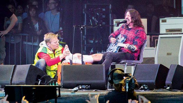 Foo Fighters spelar på Ullevi, Göteborg 2015-06-12. Foto: Andreas Carlsson, Rockfoto