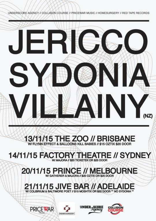 jericco sydonia tour