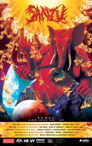 sanzu tour poster