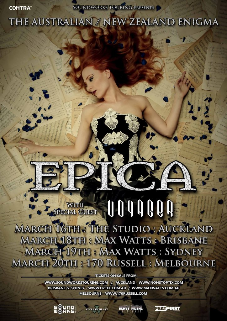 EPICA AUST NZ ENIGMA 2016