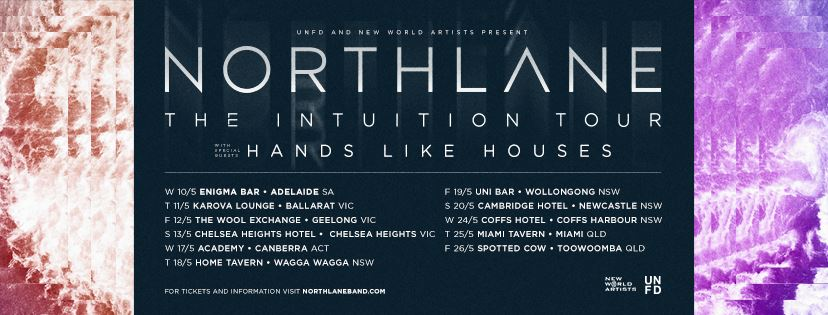 northane in tour