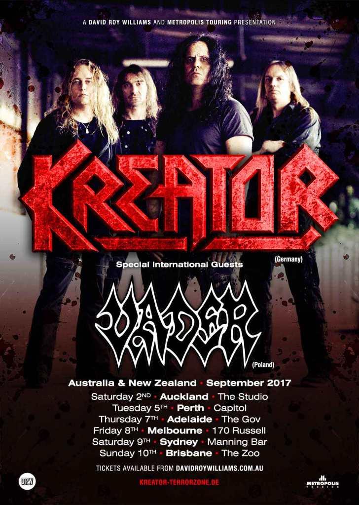 Kreator tour