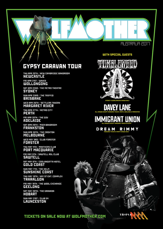 wolfmother tour