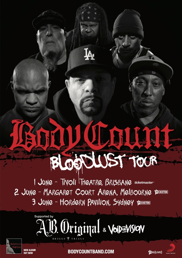 bodycount tour